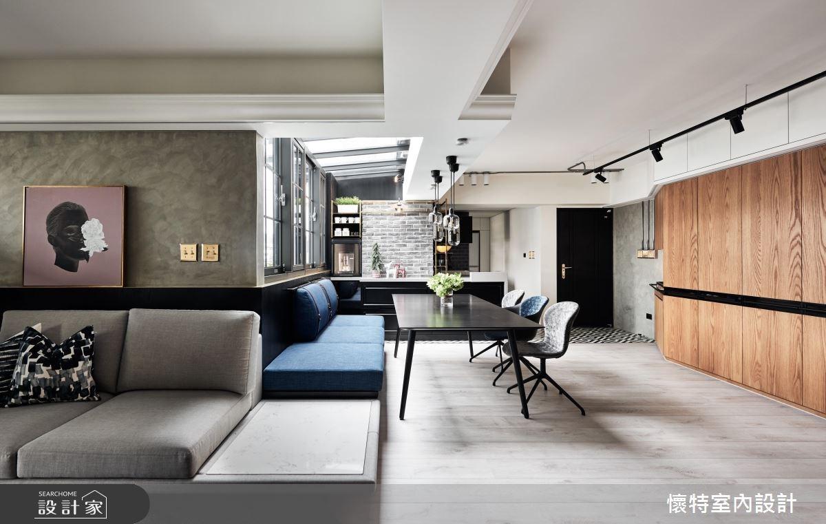 45坪老屋(16~30年)_北歐風餐廳案例圖片_懷特室內設計_懷特_33之2