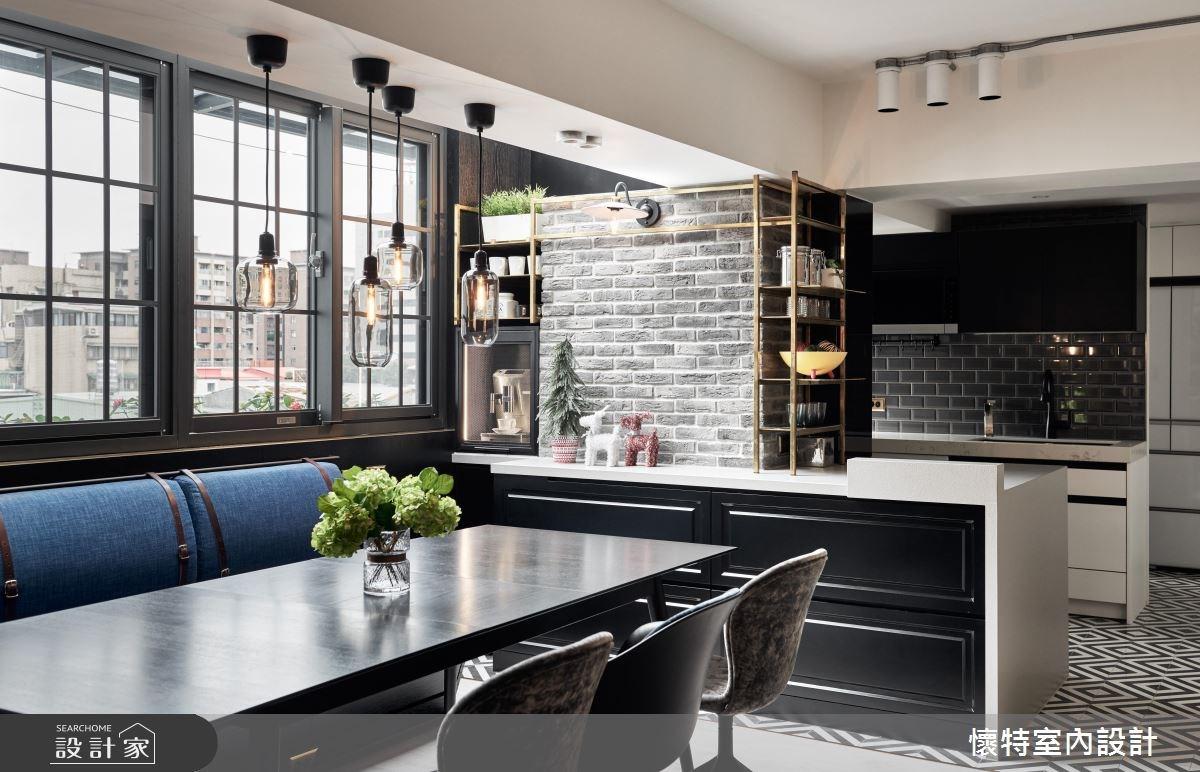 45坪老屋(16~30年)_北歐風餐廳案例圖片_懷特室內設計_懷特_33之3
