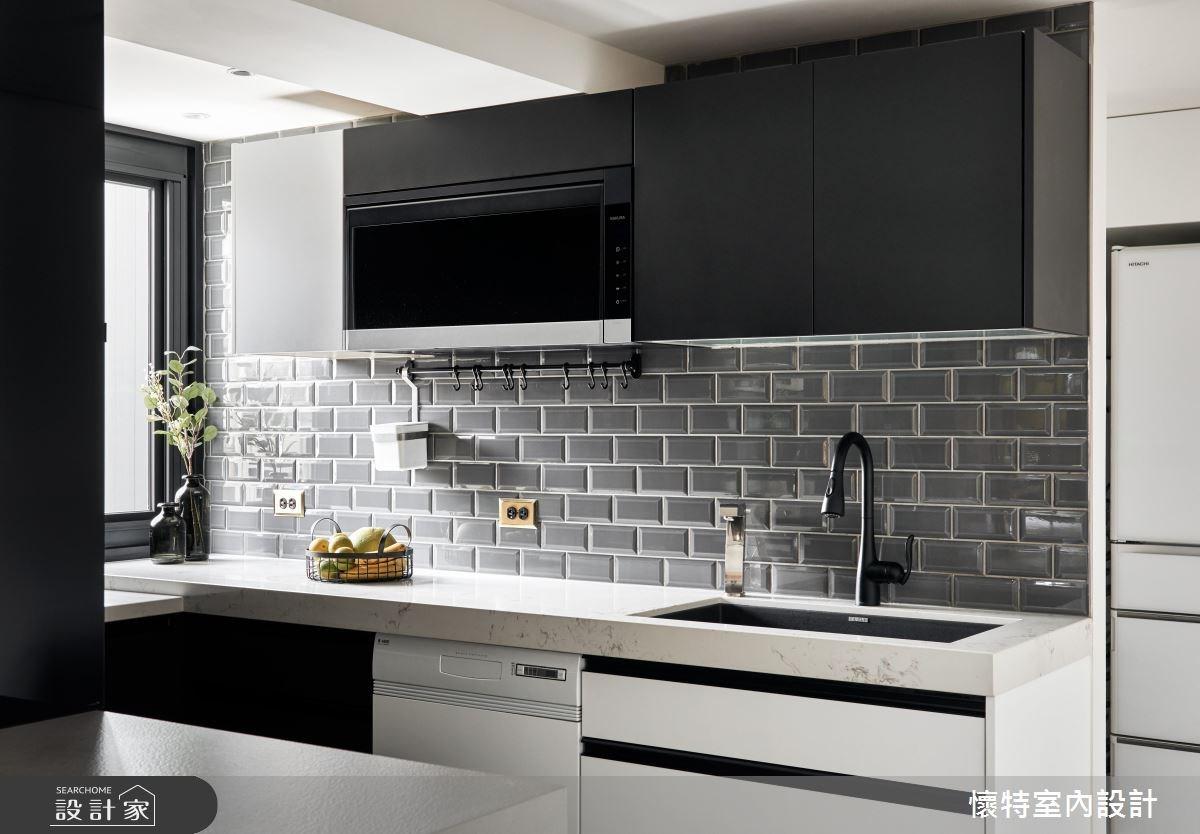 45坪老屋(16~30年)_北歐風廚房案例圖片_懷特室內設計_懷特_33之4
