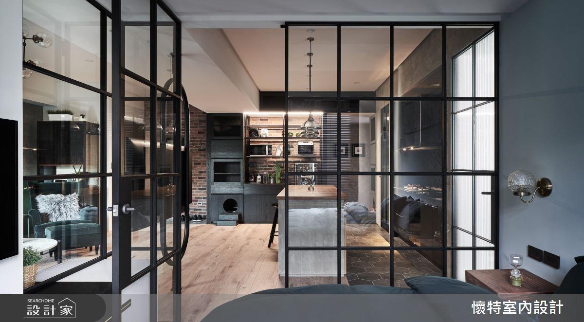22坪新成屋(5年以下)_現代風臥室案例圖片_懷特室內設計_懷特_34之18
