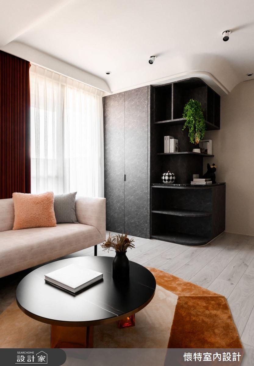 23坪新成屋(5年以下)_現代風客廳案例圖片_懷特室內設計_懷特_41之4