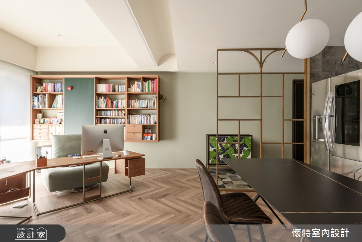 30坪新成屋(5年以下)_混搭風餐廳書房案例圖片_懷特室內設計_懷特_42之2