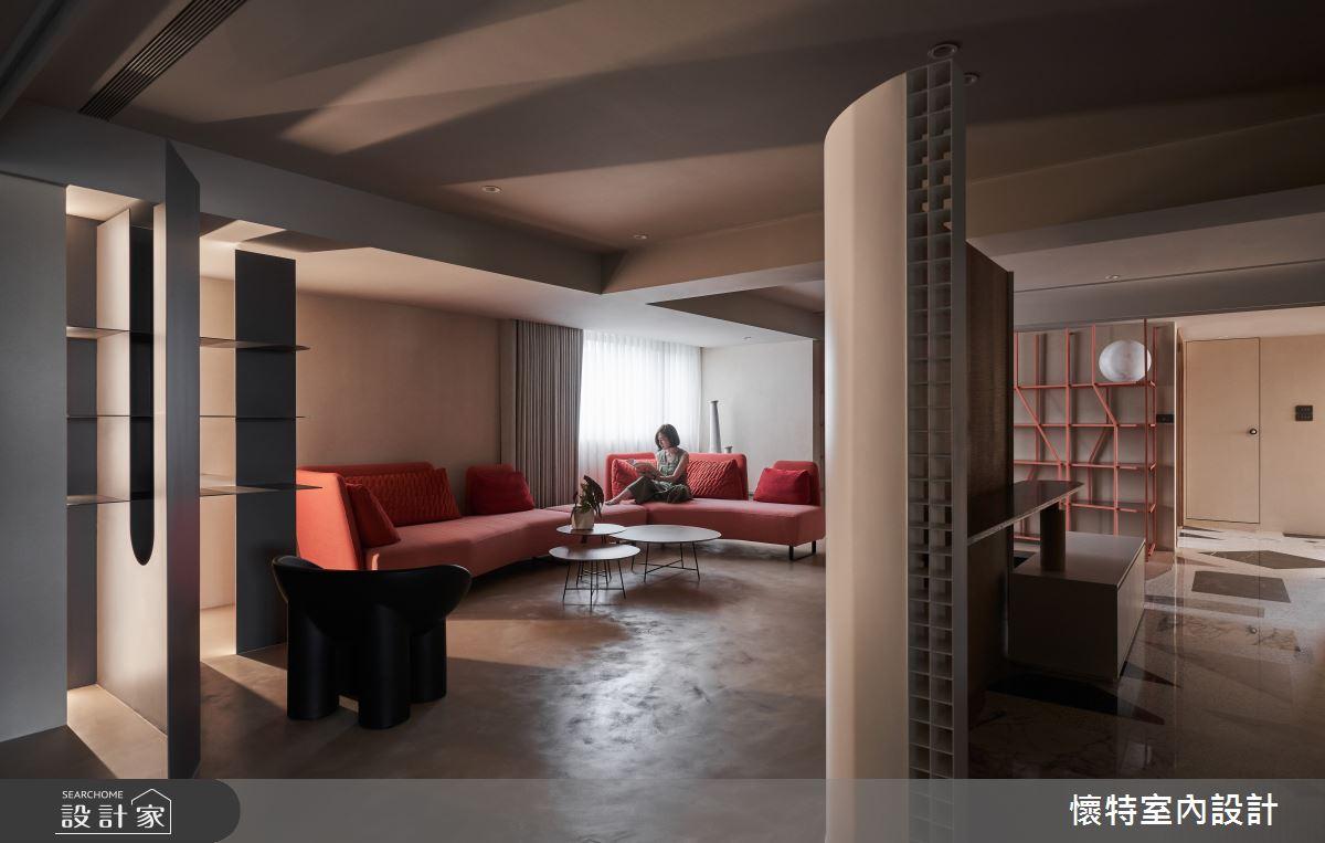 77坪老屋(16~30年)_簡約風客廳案例圖片_懷特室內設計_懷特_43之2