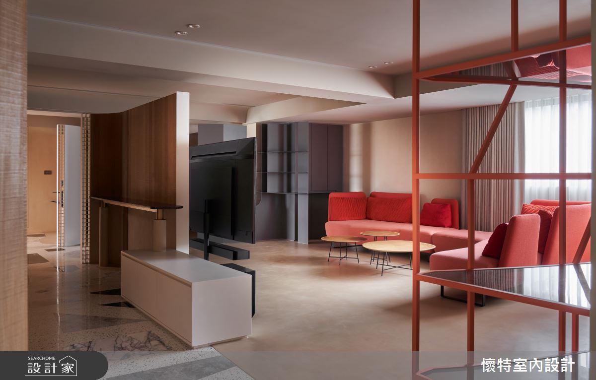 77坪老屋(16~30年)_簡約風客廳案例圖片_懷特室內設計_懷特_43之5