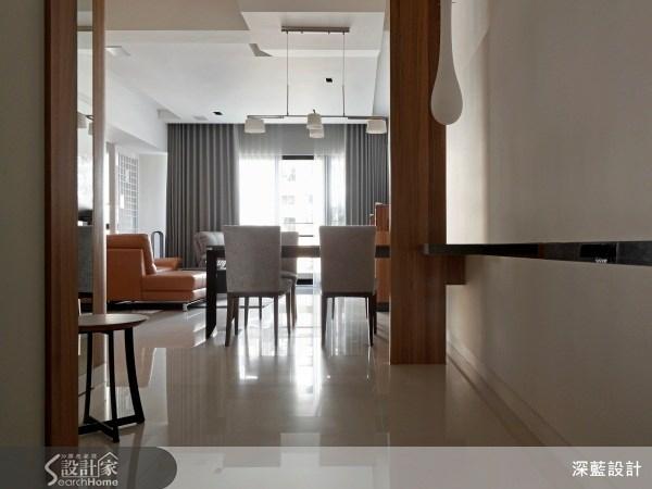 50坪新成屋(5年以下)_現代風案例圖片_宸璽設計_深藍_10之1