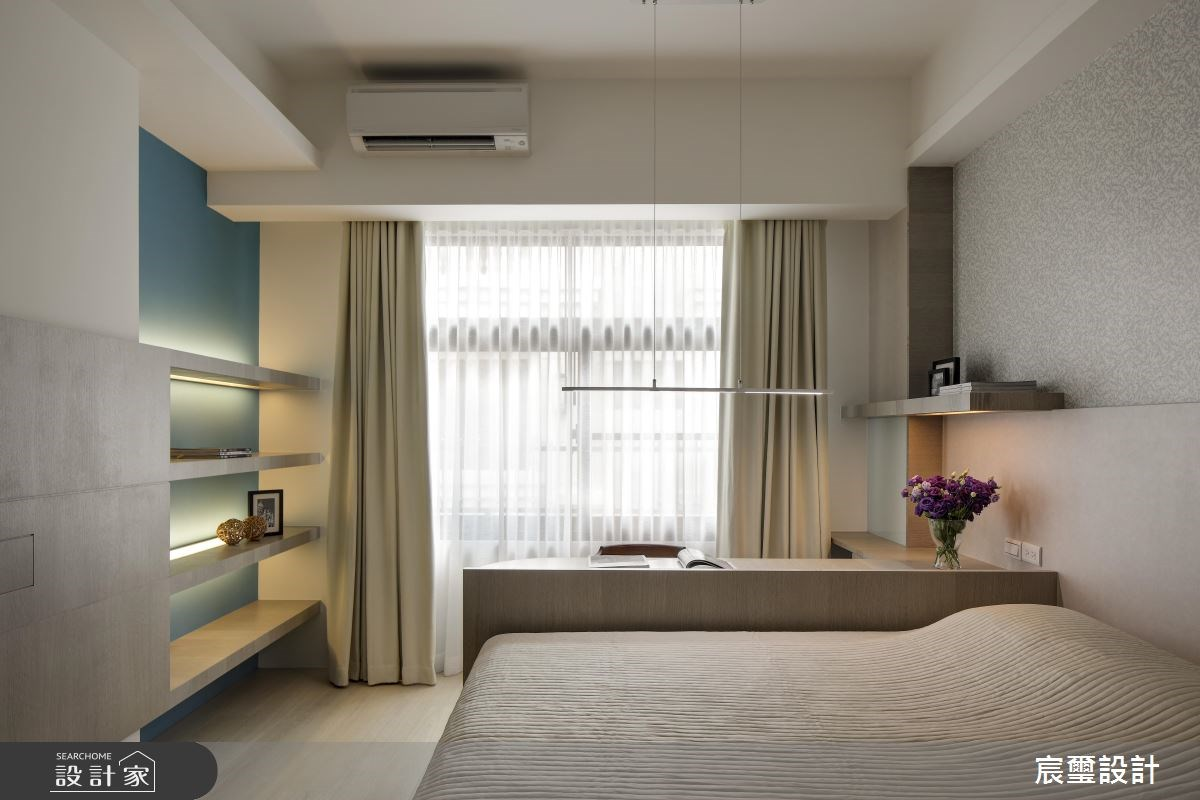 85坪新成屋(5年以下)_現代風臥室案例圖片_宸璽設計_宸璽_01之13