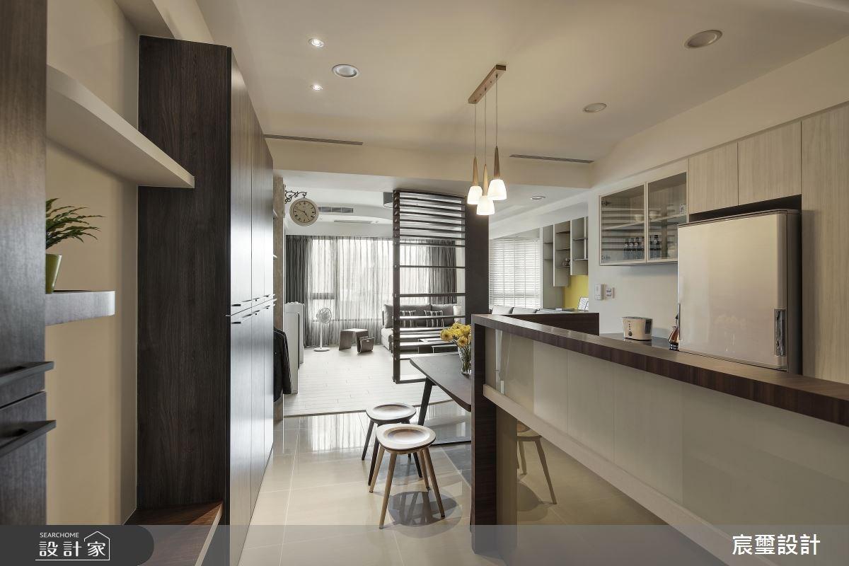 35坪新成屋(5年以下)_現代風餐廳案例圖片_宸璽設計_宸璽_05之1
