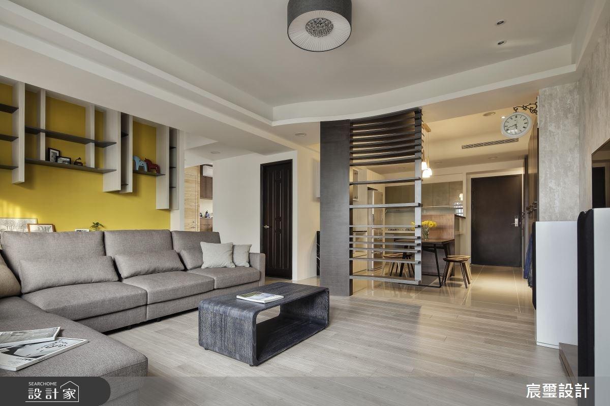 35坪新成屋(5年以下)_現代風客廳案例圖片_宸璽設計_宸璽_05之4