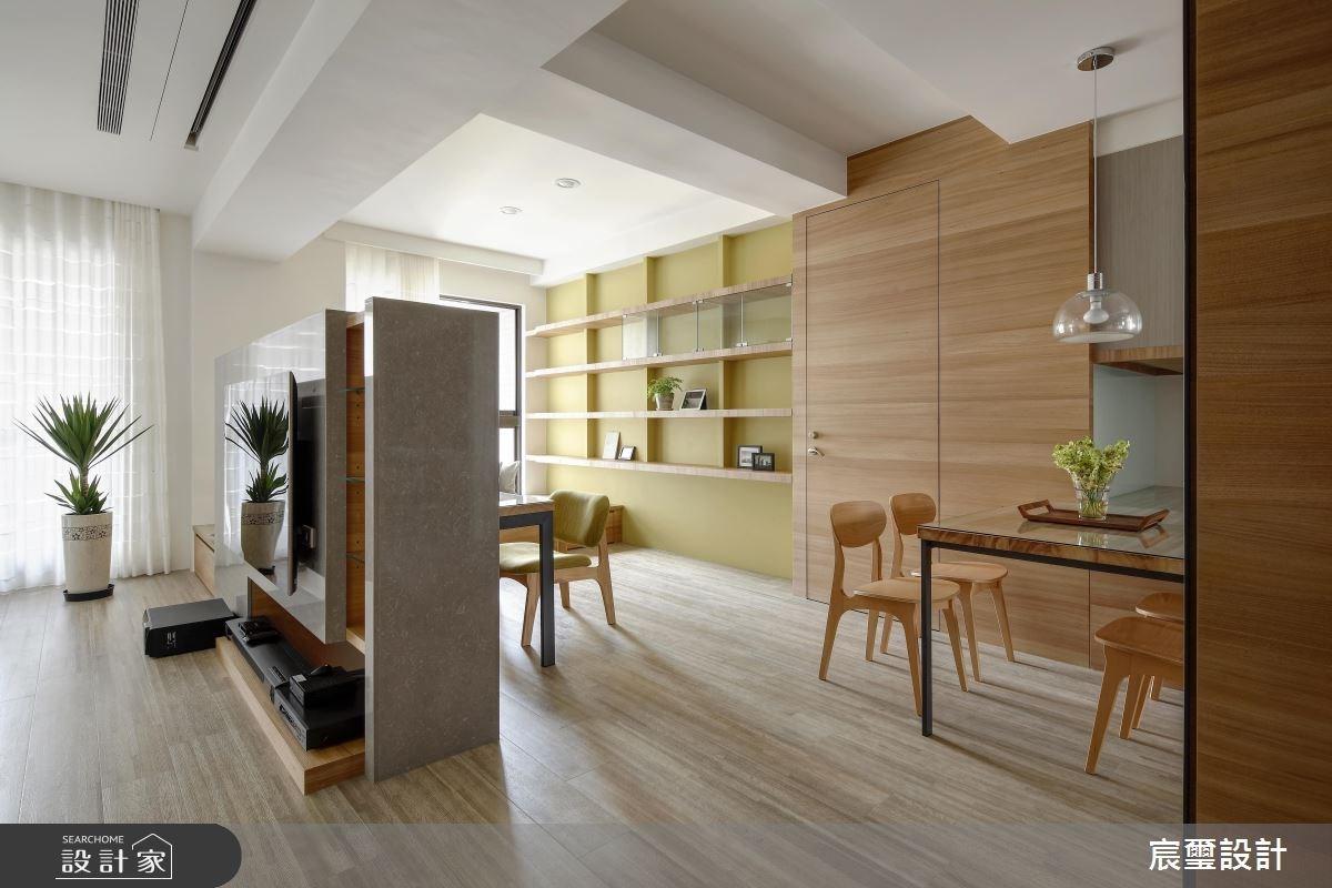 45坪新成屋(5年以下)_現代風餐廳案例圖片_宸璽設計_宸璽_06之2