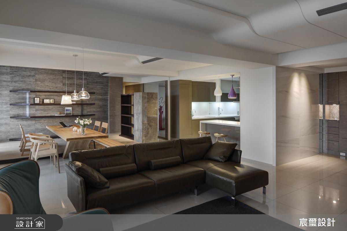 50 坪現代風大宅 打造我們家的情感互動好生活