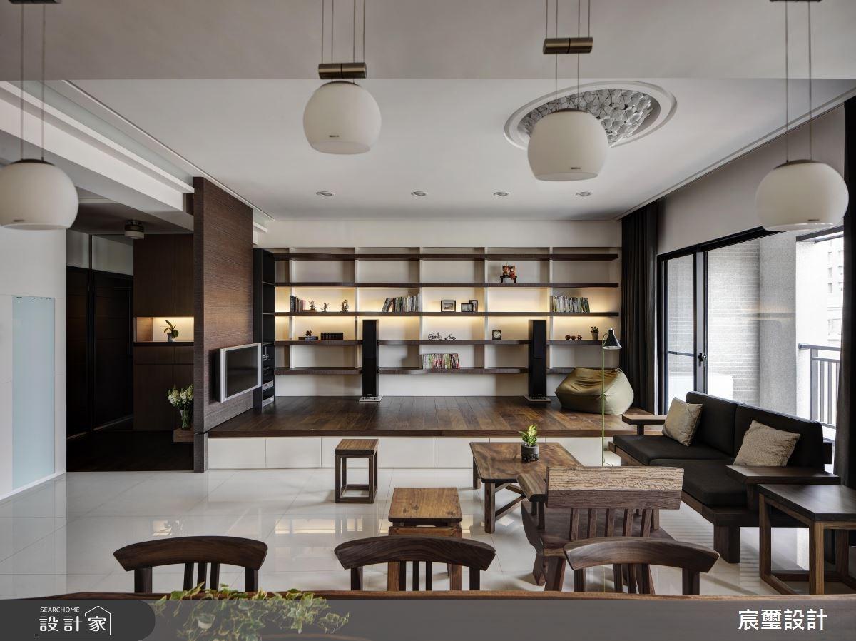 40坪新成屋(5年以下)_混搭風客廳和室案例圖片_宸璽設計_宸璽_08之5