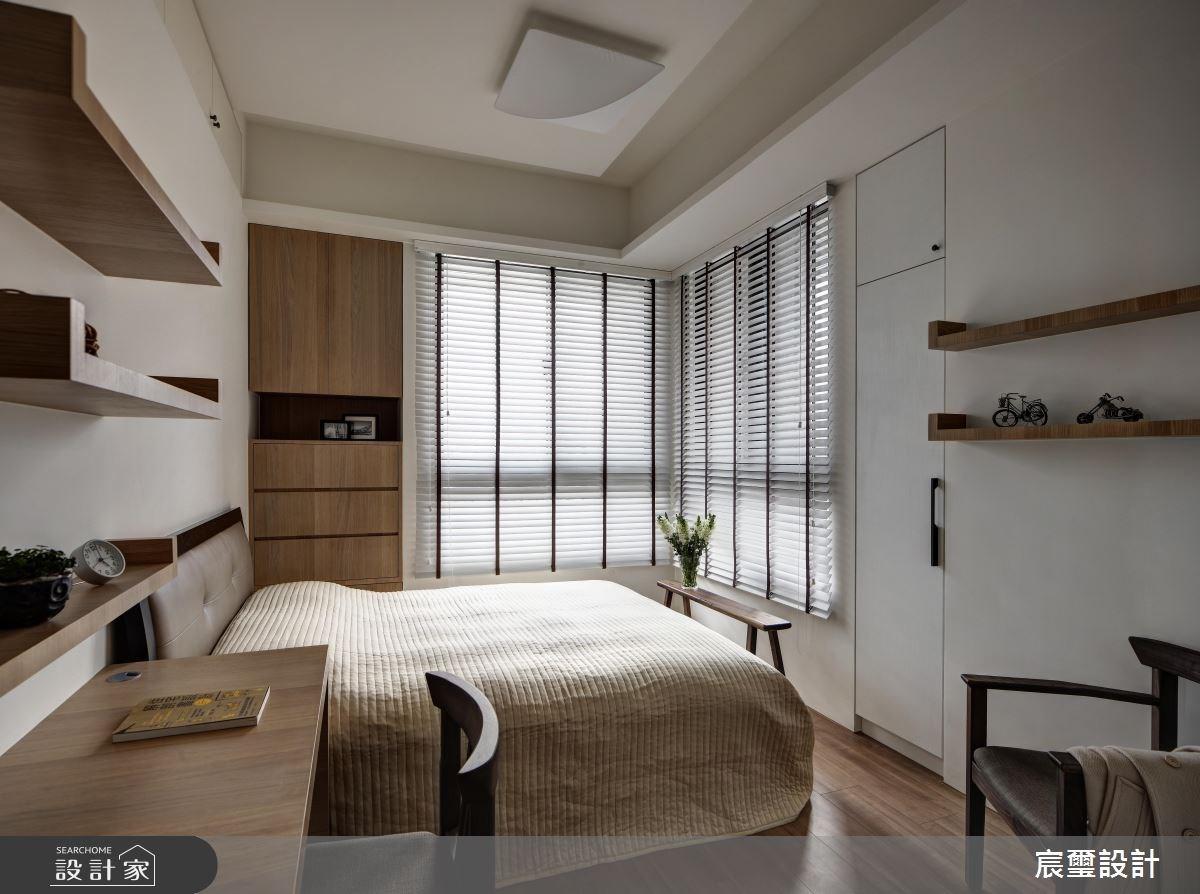 40坪新成屋(5年以下)_混搭風臥室案例圖片_宸璽設計_宸璽_08之9