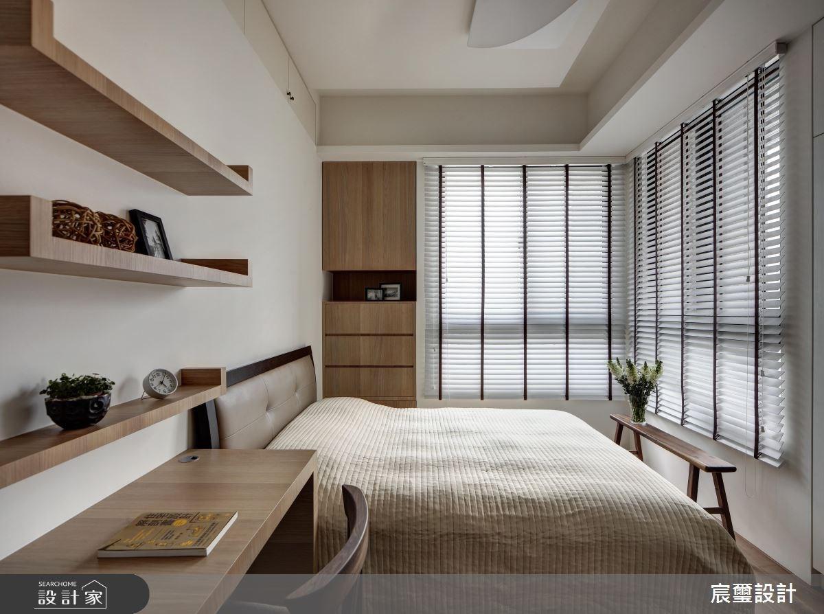40坪新成屋(5年以下)_混搭風臥室案例圖片_宸璽設計_宸璽_08之10