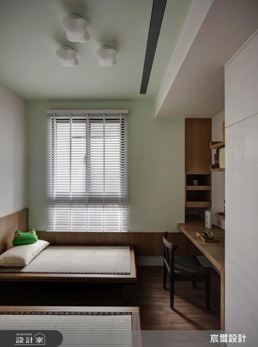 40坪新成屋(5年以下)_混搭風臥室案例圖片_宸璽設計_宸璽_08之12