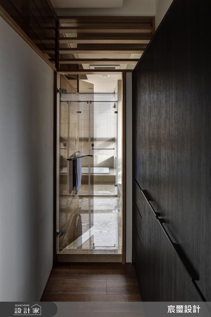 40坪新成屋(5年以下)_混搭風浴室走廊案例圖片_宸璽設計_宸璽_08之13