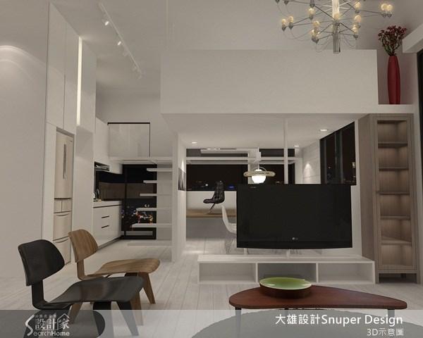 15坪中古屋(5~15年)_簡約風客廳案例圖片_大雄室內設計Snuper Design_大雄_13之5