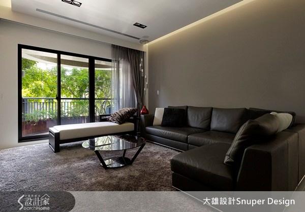 45坪新成屋(5年以下)_現代風客廳案例圖片_大雄室內設計Snuper Design_大雄_15之2