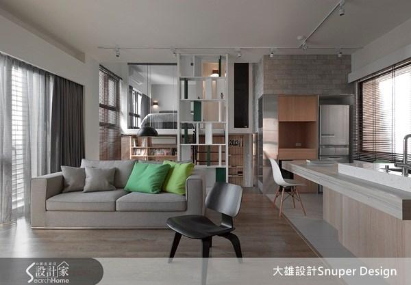 新成屋(5年以下)_北歐風客廳案例圖片_大雄室內設計Snuper Design_大雄_18之1