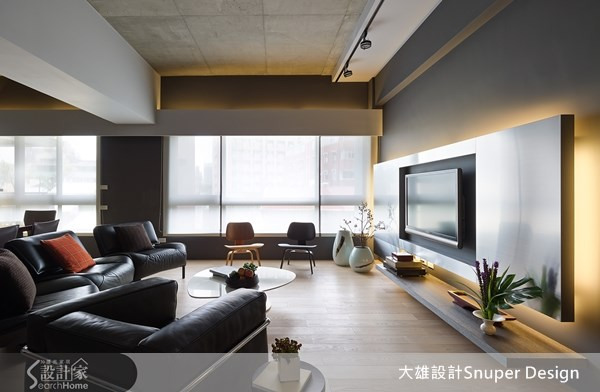 40坪預售屋_現代風客廳案例圖片_大雄室內設計Snuper Design_大雄_22之5
