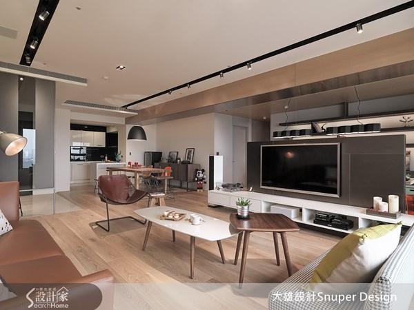 45坪新成屋(5年以下)_現代風客廳案例圖片_大雄室內設計Snuper Design_大雄_24之4