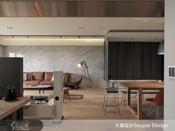 45坪新成屋(5年以下)_現代風客廳餐廳案例圖片_大雄室內設計Snuper Design_大雄_24之1