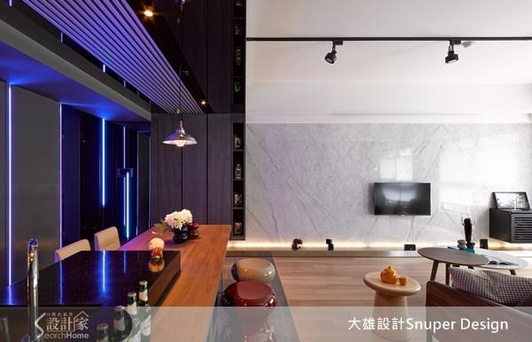 28坪中古屋(5~15年)_工業風客廳餐廳案例圖片_大雄室內設計Snuper Design_大雄_25之5