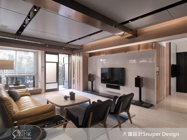 45坪新成屋(5年以下)_現代風客廳案例圖片_大雄室內設計Snuper Design_大雄_27之1