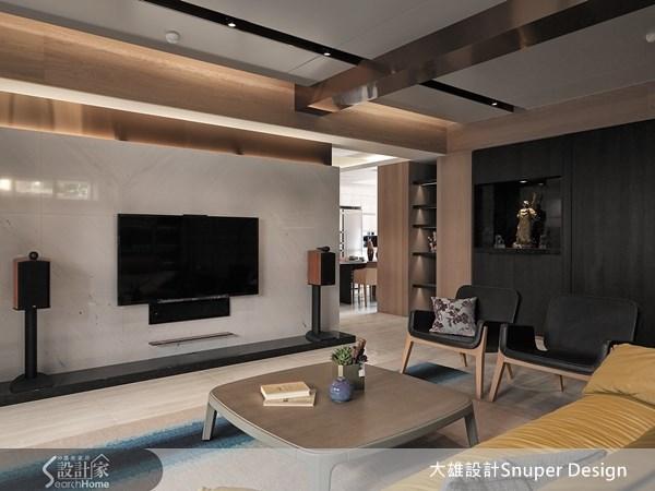 45坪新成屋(5年以下)_現代風客廳案例圖片_大雄室內設計Snuper Design_大雄_27之3