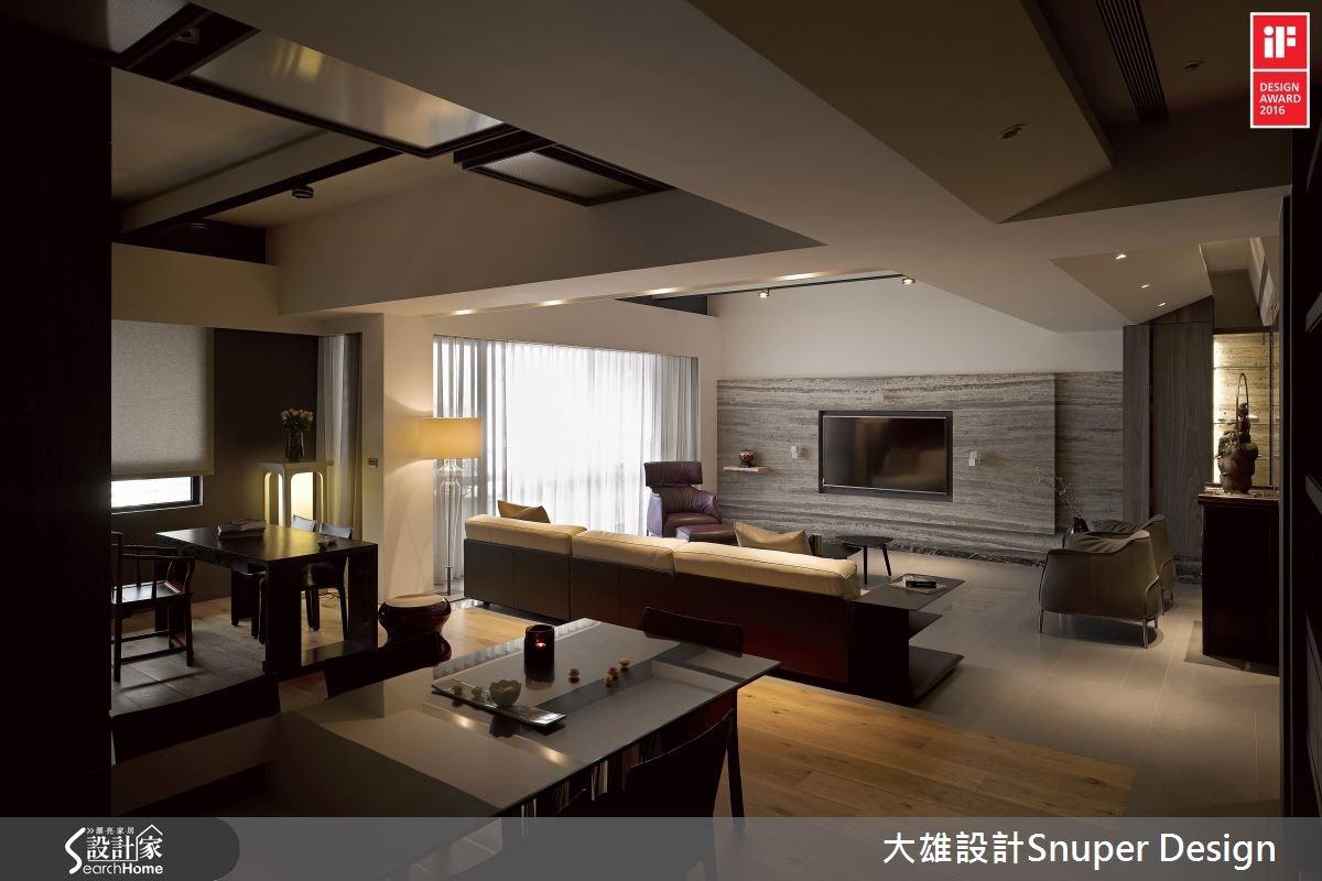 65坪新成屋(5年以下)_現代風客廳餐廳書房案例圖片_大雄室內設計Snuper Design_大雄_29之2