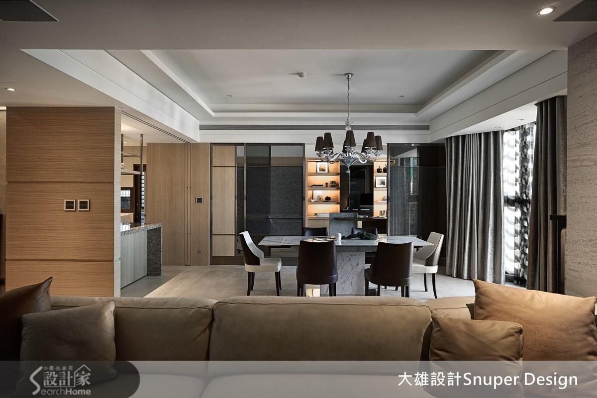 65坪新成屋(5年以下)_現代風客廳餐廳吧檯案例圖片_大雄室內設計Snuper Design_大雄_30之3