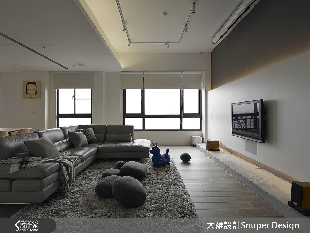 55坪預售屋_北歐風客廳案例圖片_大雄室內設計Snuper Design_大雄_32之1