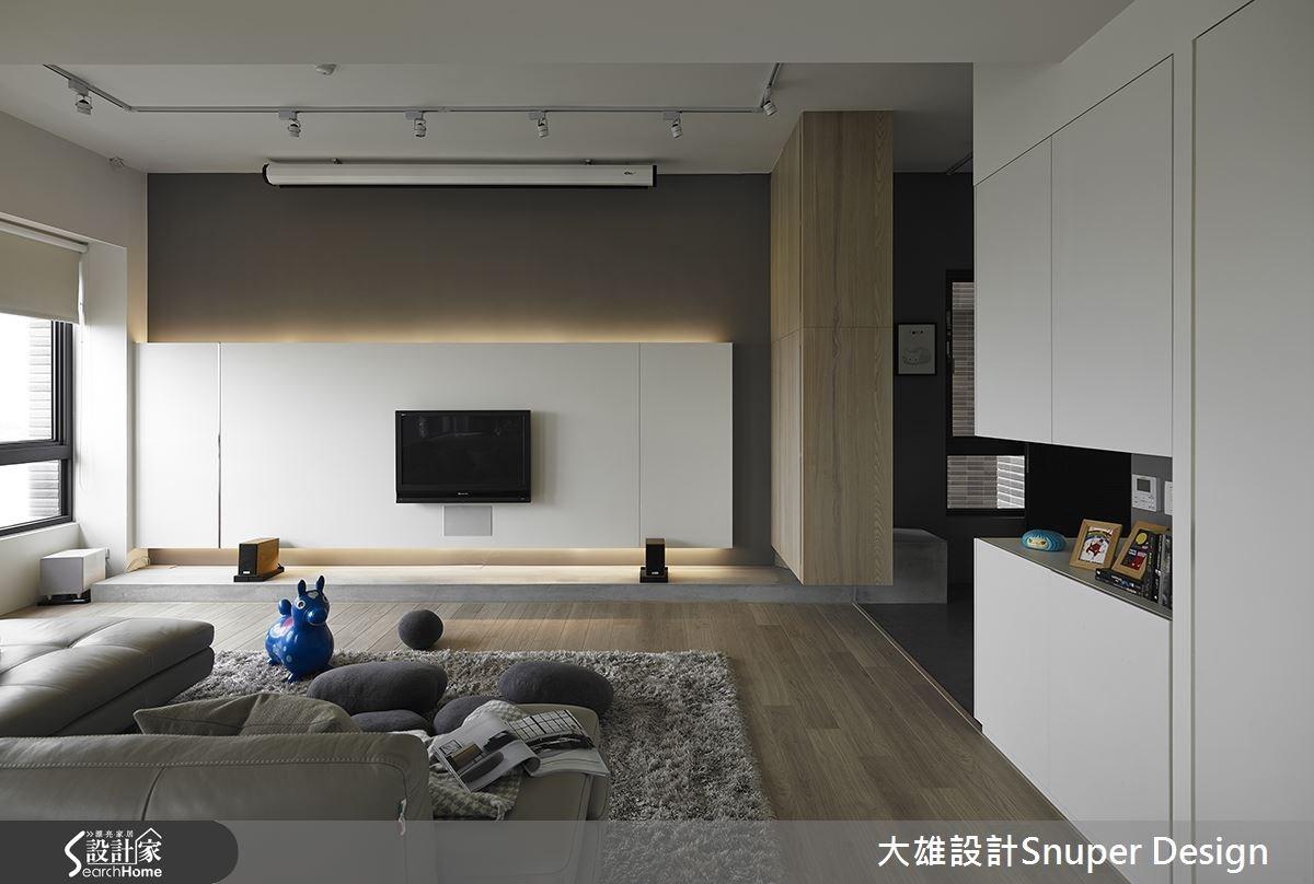 55坪預售屋_北歐風客廳案例圖片_大雄室內設計Snuper Design_大雄_32之2