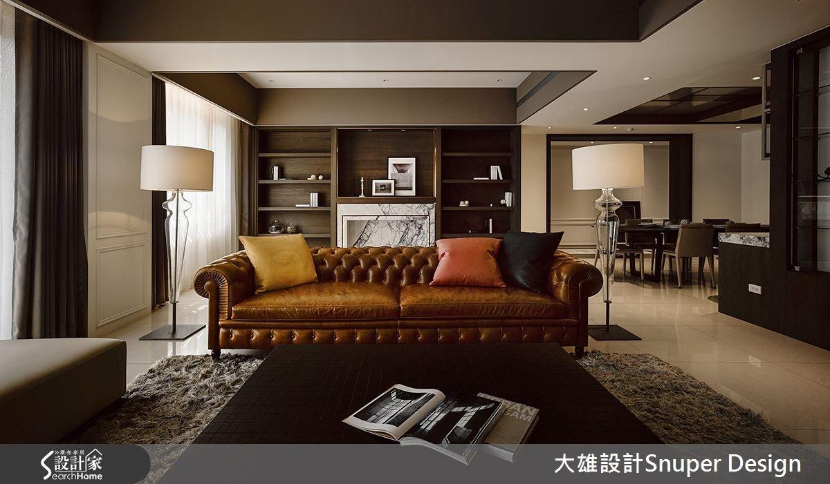 55坪新成屋(5年以下)_新古典客廳案例圖片_大雄室內設計Snuper Design_大雄_33之1