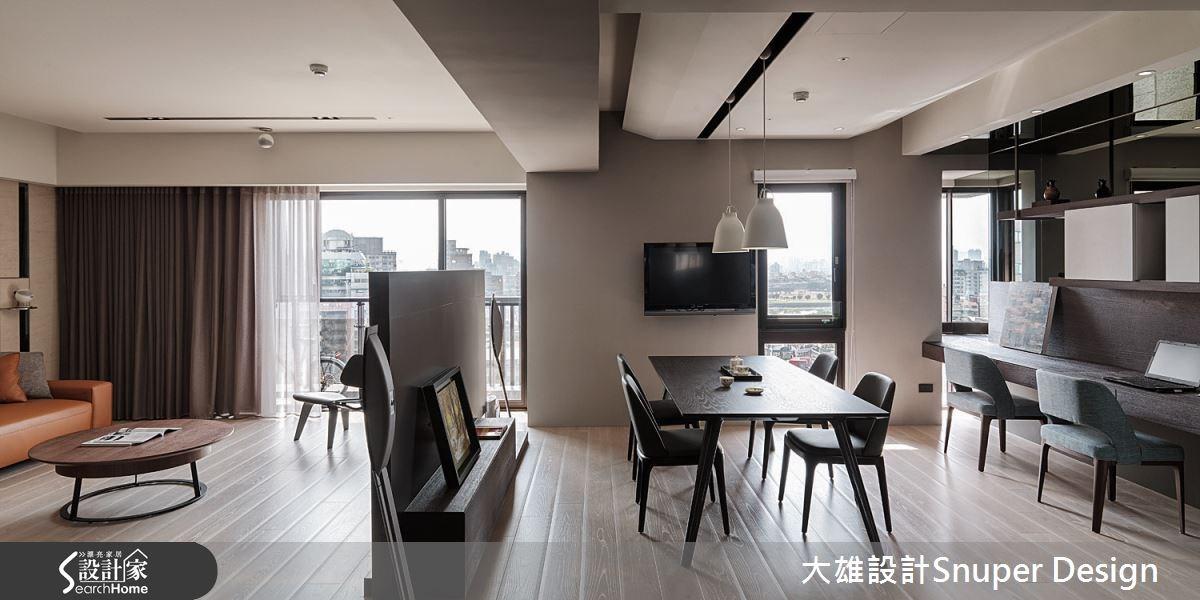 40坪新成屋(5年以下)_現代風客廳餐廳案例圖片_大雄室內設計Snuper Design_大雄_35之3