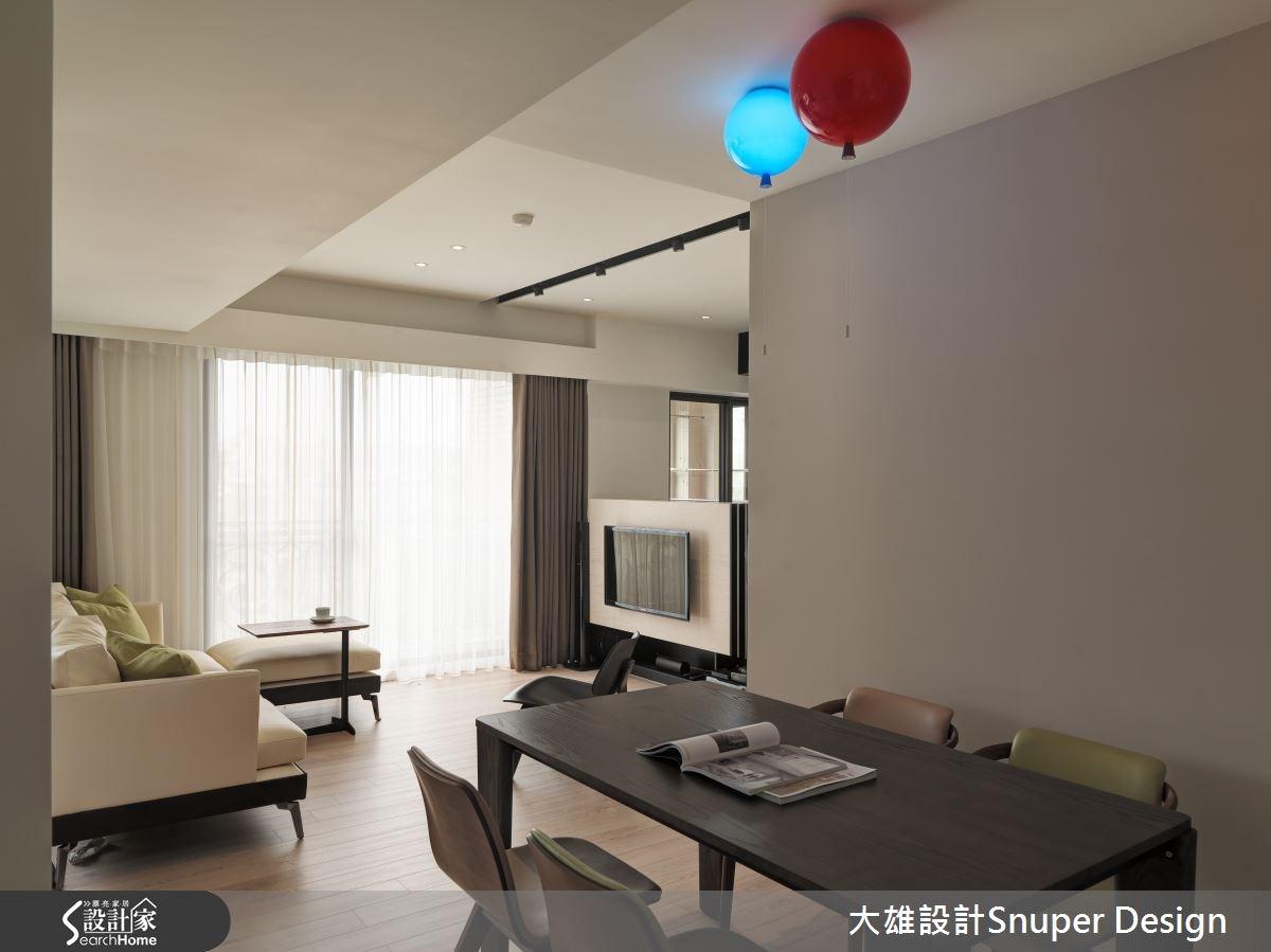26坪中古屋(5~15年)_現代風客廳餐廳案例圖片_大雄室內設計Snuper Design_大雄_37之1