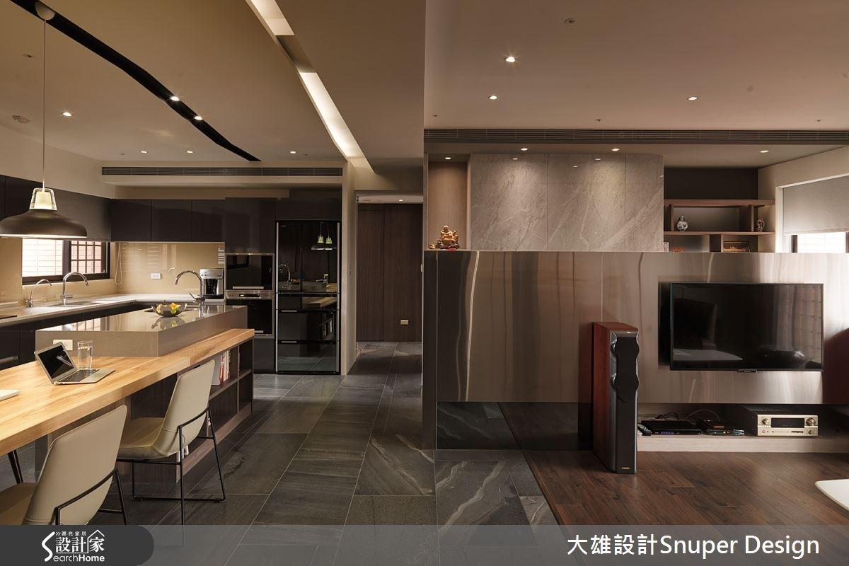30坪新成屋(5年以下)_工業風客廳餐廳案例圖片_大雄室內設計Snuper Design_大雄_38之1