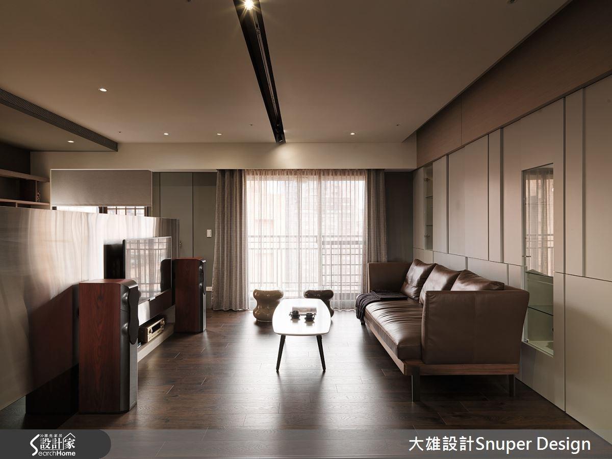 30坪新成屋(5年以下)_工業風客廳案例圖片_大雄室內設計Snuper Design_大雄_38之2