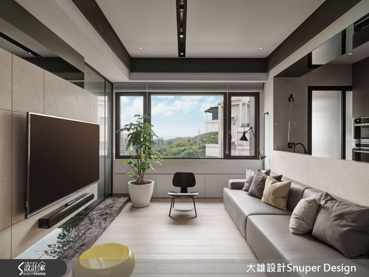 22坪新成屋(5年以下)_現代風客廳案例圖片_大雄室內設計Snuper Design_大雄_41之2