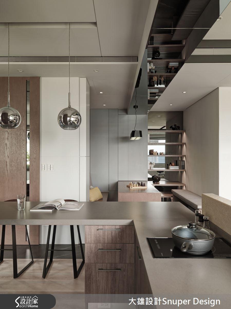 22坪新成屋(5年以下)_現代風廚房吧檯案例圖片_大雄室內設計Snuper Design_大雄_41之6