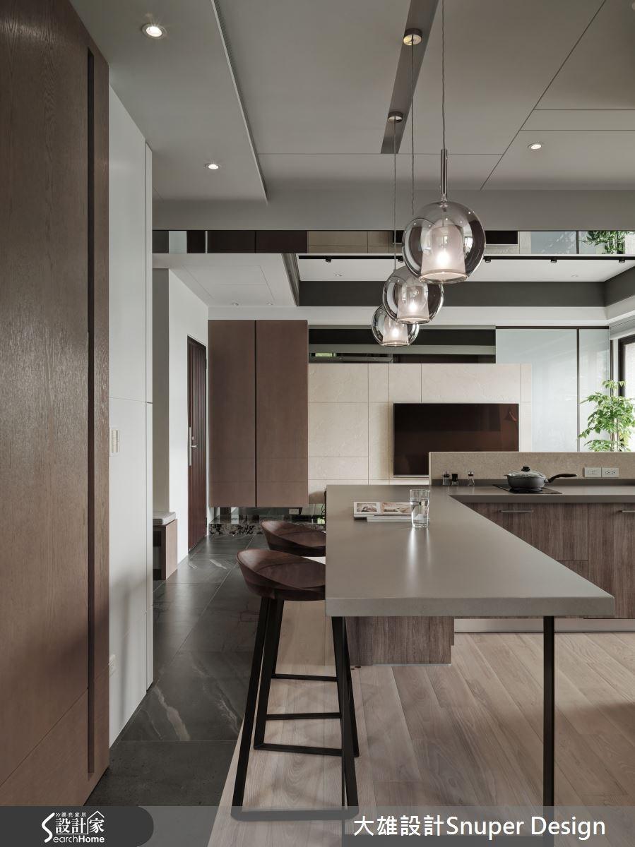 22坪新成屋(5年以下)_現代風餐廳廚房案例圖片_大雄室內設計Snuper Design_大雄_41之10