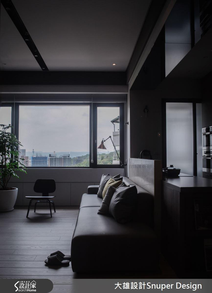 22坪新成屋(5年以下)_現代風客廳案例圖片_大雄室內設計Snuper Design_大雄_41之16