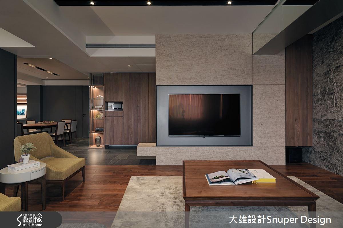 55坪新成屋(5年以下)_現代風客廳餐廳案例圖片_大雄室內設計Snuper Design_大雄_44之3