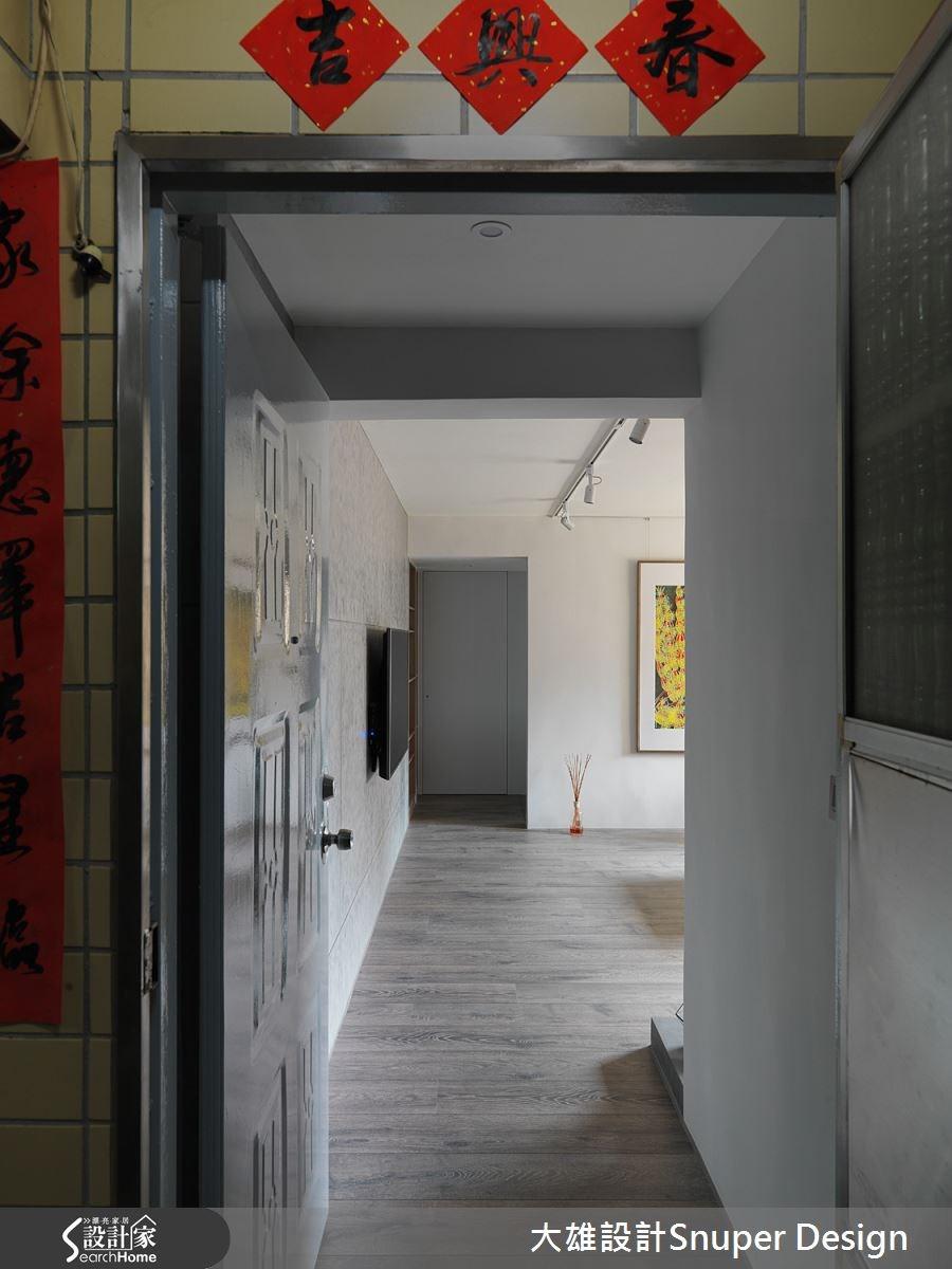 18坪老屋(16~30年)_現代風走廊案例圖片_大雄室內設計Snuper Design_大雄_45之2