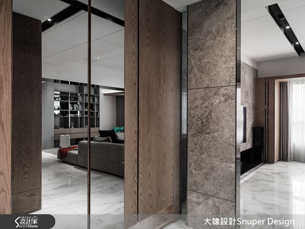 40坪中古屋(5~15年)_現代風走廊案例圖片_大雄室內設計Snuper Design_大雄_46之2