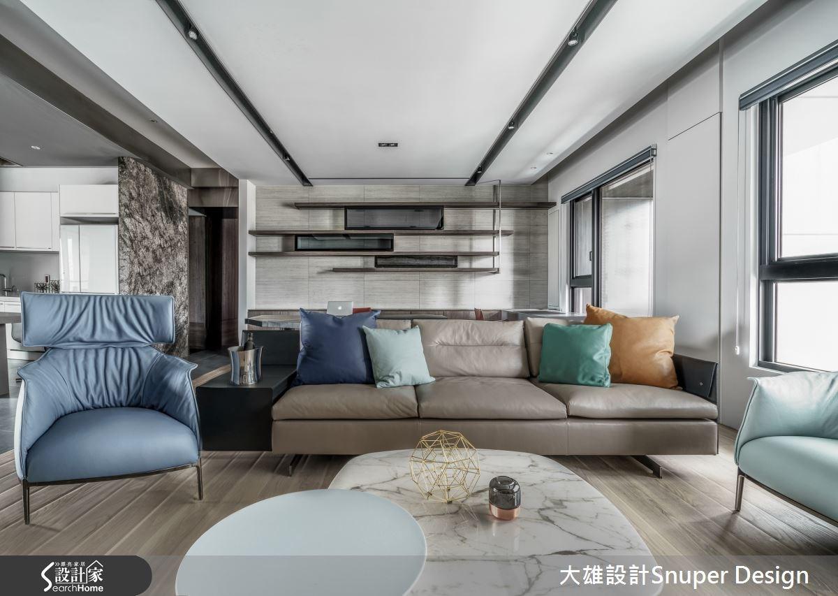 46坪新成屋(5年以下)_現代風客廳案例圖片_大雄室內設計Snuper Design_大雄_47之4