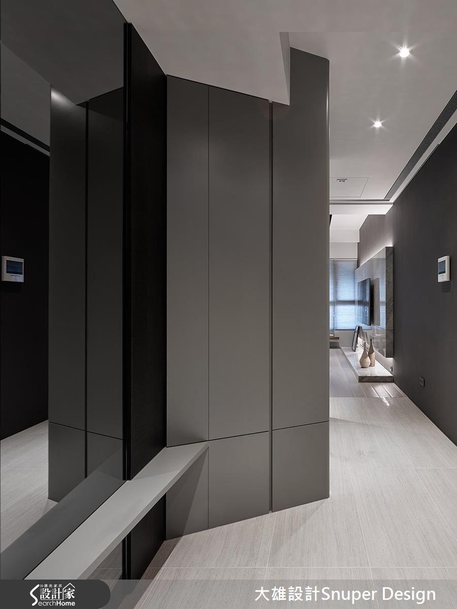 25坪新成屋(5年以下)_現代風走廊案例圖片_大雄室內設計Snuper Design_大雄_51之1