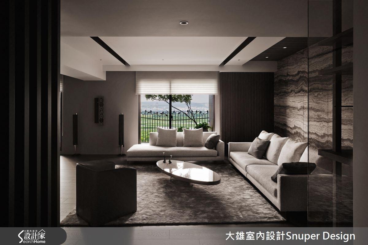 45坪新成屋(5年以下)_現代風客廳案例圖片_大雄室內設計Snuper Design_大雄_55之2