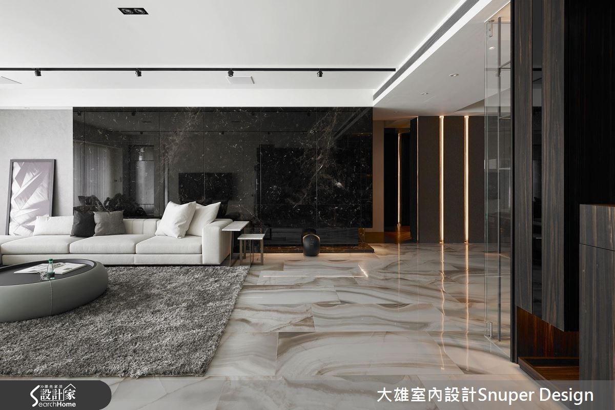 90坪新成屋(5年以下)_現代風客廳案例圖片_大雄室內設計Snuper Design_大雄_58之3