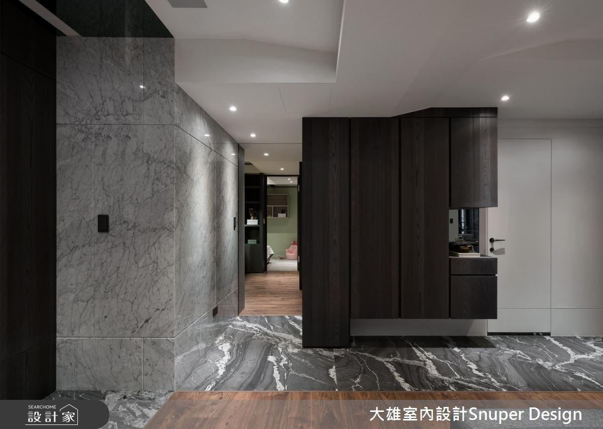 36坪新成屋(5年以下)_現代風玄關案例圖片_大雄室內設計Snuper Design_大雄_63之2