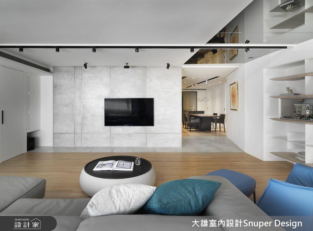 45坪老屋(16~30年)_現代風客廳案例圖片_大雄室內設計Snuper Design_大雄_69之4